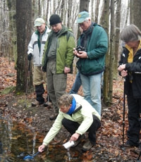 About Landing page Vernal Pool Hike